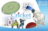 Cricket Phone Card $10